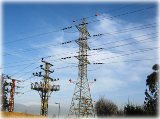 מקור קרינה - עמוד חשמל